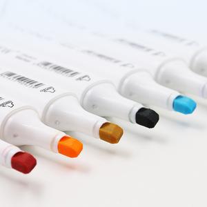 Спиртовые маркеры TOUCHNEW, 30/40/60/80/168 цветов, маркеры с двойной головкой для скетчинга, набор фломастеров для рисования манги, дизайнерские марк...