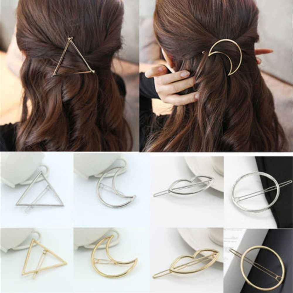 TK115 1 PC New Fashion Women Girls Hairpins Girls Star Heart Hair Clip Delicate Hair Pin Hair Decorations Jewelry Accessories