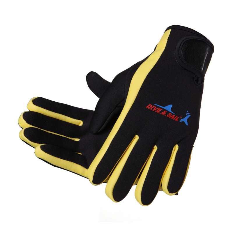 Neoprene 1.5 Mm Renang Menyelam Sarung Tangan Neoprene Anti-Slip Sarung Tangan dengan Tongkat Sihir untuk Musim Dingin Kolam Hangat