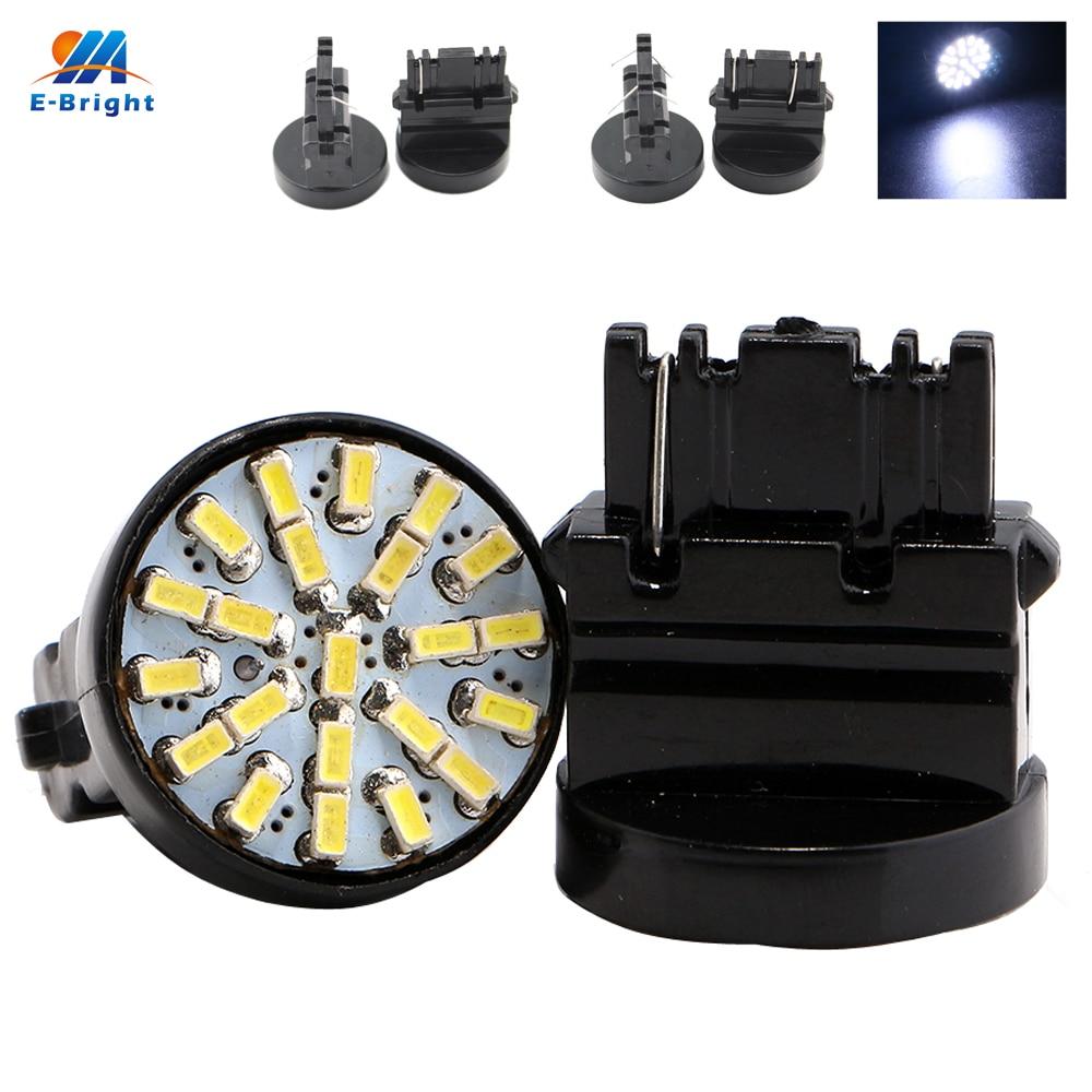 YM E Bright 150 PCS T25 3020 22 SMD 3156 P27W 3157 P27 5W 22 LED