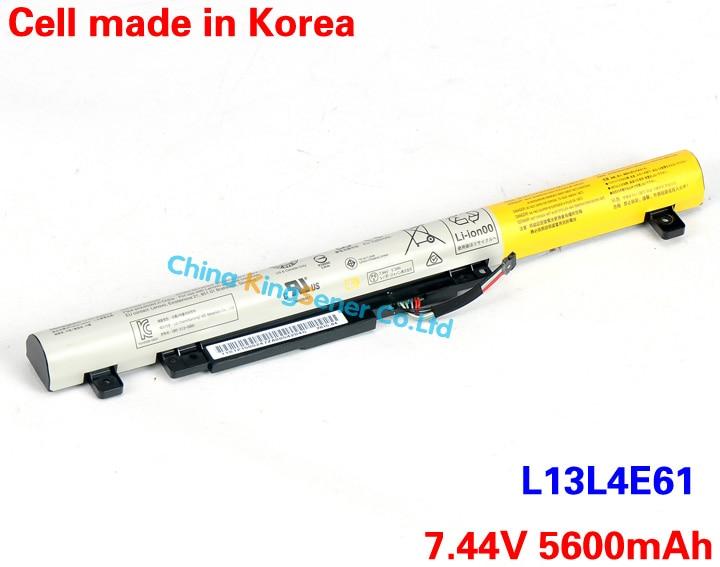 ФОТО 5600mAh Korea Cell Original New Laptop Battery for Lenovo Flex 2 14 15 flex2 L13L4E61 L13S4E61 L13S4A61 Free 2 Years Warranty