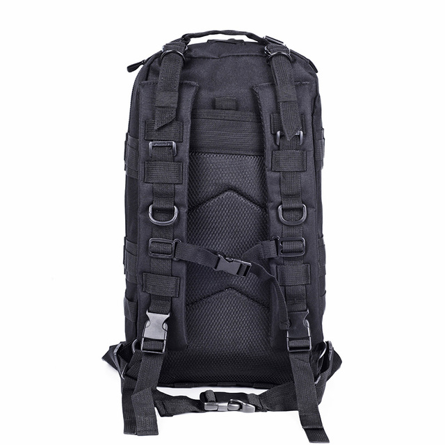 Nylon Military Tactical Backpack, Waterproof Molle Army Climbing Bag