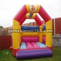 PVC 4 35 X 3 45 M Bouncer House Inflatable Bouncer Castle Jump Castle Inflatable Slide