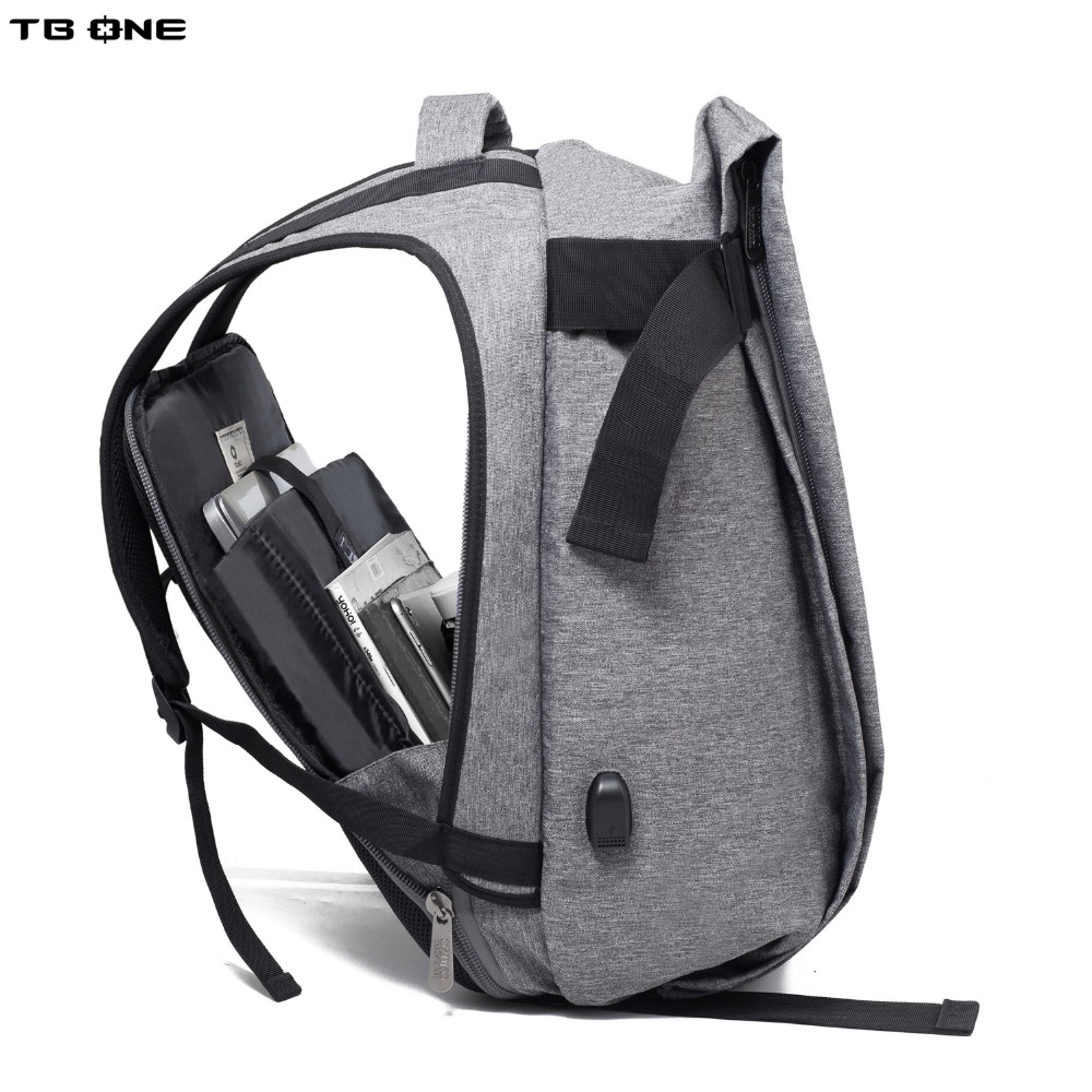 TBONE Backpacks USB Charging Men 15-17inch Laptop Backpacks For Teenager Fashion Male Mochila Leisure Travel Backpack Anti Thief men backpack student school bag for teenager boys large capacity trip backpacks laptop backpack for 15 inches mochila masculina