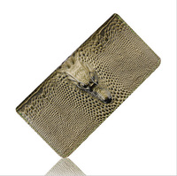 Hot Sale Women Wallets Fashion Alligators Quality Patent Leather Wallet Multi Color Long Card Holder Clutch Purse Free Shipping