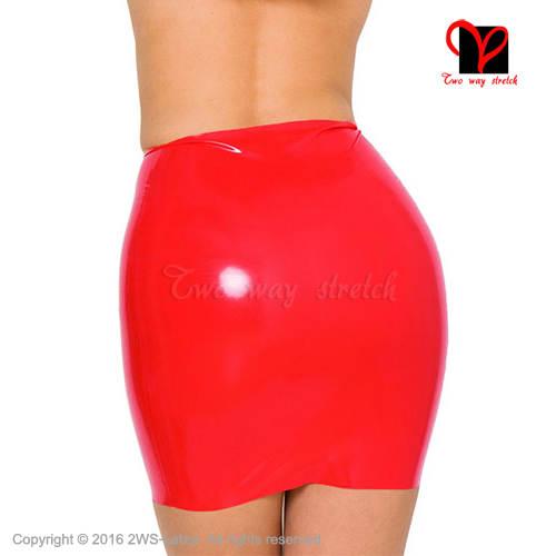 d9ba9cee77 placeholder Sexy black or Red Latex pencil skirt Rubber miniskirt Gummi  mini skirt Playsuit Bodycon XXXL plus