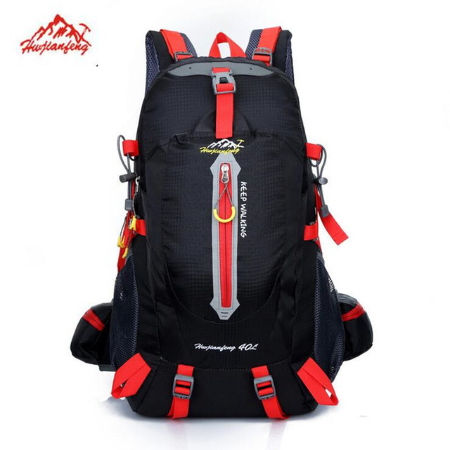 b0d5c9057d22 40L Outdoor Mountaineering Bags Water Repellent Durable Oxford Cloth  Shoulder Bag Men And Women Travel Hiking Camping Backpack -in Climbing Bags  from ...