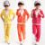2015 primavera crianças conjuntos de roupas de bebê meninas de veludo criança lazer esportes dos meninos casacos + calça atacado varejo