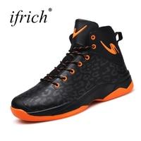 Новая тенденция Для мужчин спортивные Обувь Баскетбол Сапоги и ботинки для девочек удобные Для мужчин спортивные Спортивная обувь оранжев...