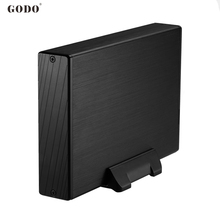 Exclusive design 3.5inch Sata II to USB3.0 external HDD/SSD hard drive enclosure/case/box 5Gbps for PC computer/notebook Mac