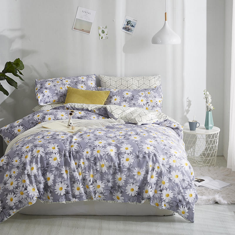 100 Cotton King Queen Twin Bedding Set Bed set Soft Bed sheet Bedlinens Fitted sheet Duvet