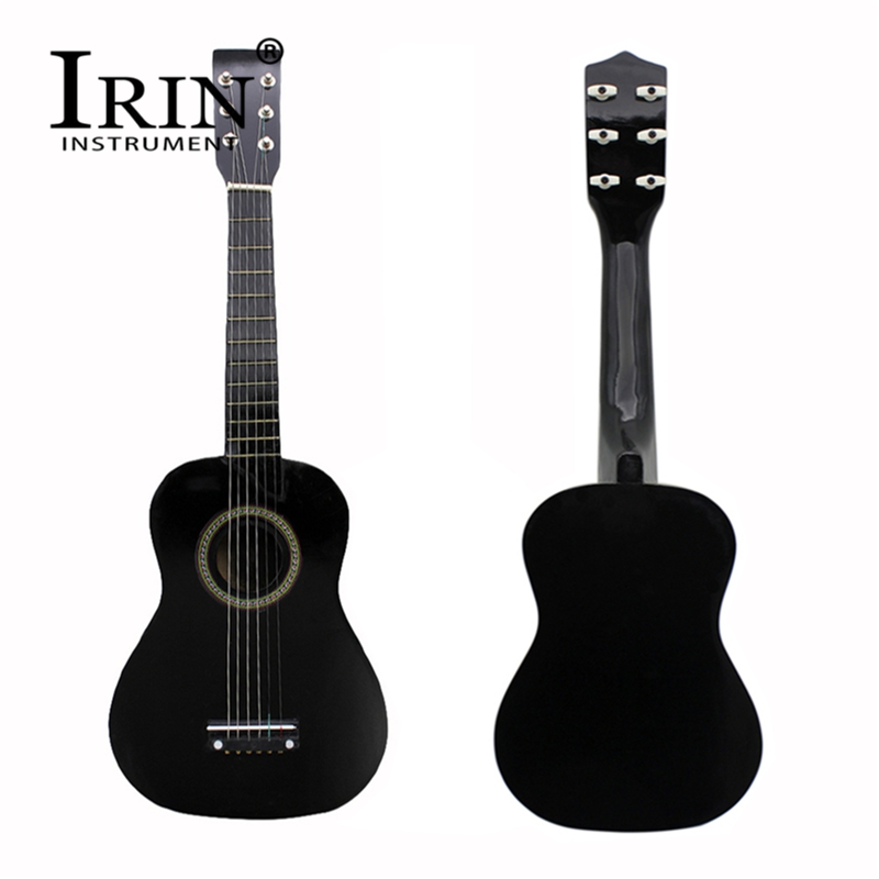 IRIN 23 Inch Ukelele Soprano 12 Frets 6 String Basswood Body Acoustic Guitar With Pick And Strings For Kids / Beginners
