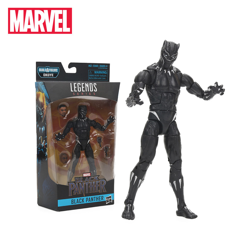 2018 Marvel Toys Black Panther PVC Action Figure The Avengers Iron Man NAKIA BOLT Sub-Mariner Figures Collection Model Dolls Toy(China)