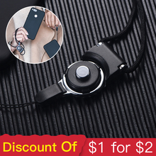 Oppselve Lanyard ID Pass Card Badge Gym Key Mobile Phone Strap For iPhone X 8 7 6s 6 Samsung S9 S8 Neck Straps Decoration