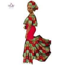 summer african bazin rich dresses short sleeve robe bazin femme africain  Plus Size Dashiki Long cotton Dress lady clothes WY839 ab69dfa32233
