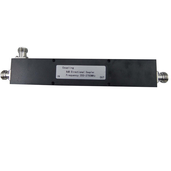 350-2700MHz  6dB directional coupler  200W  average power with n female connector