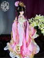 Sd кукла древний китайский костюм Hanfu кукла розовый костюм для взрослых или детей размер индивидуальные JiLiRenOu также веб игры косплей