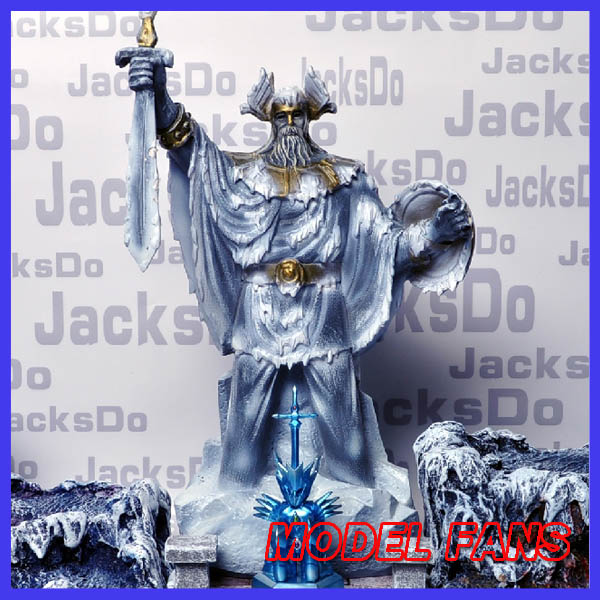 MODEL FANS IN-stock jacksdo saint seiya 31cm odin gk resin statue toy figure(only odin not contain others) the little old lady in saint tropez