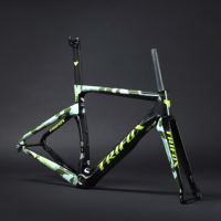 TRIFOX Carbon Road Bike Frame disc brakes Di2 Mechanical 3K carbon fibre road cycling super light race bicycle frameset bike