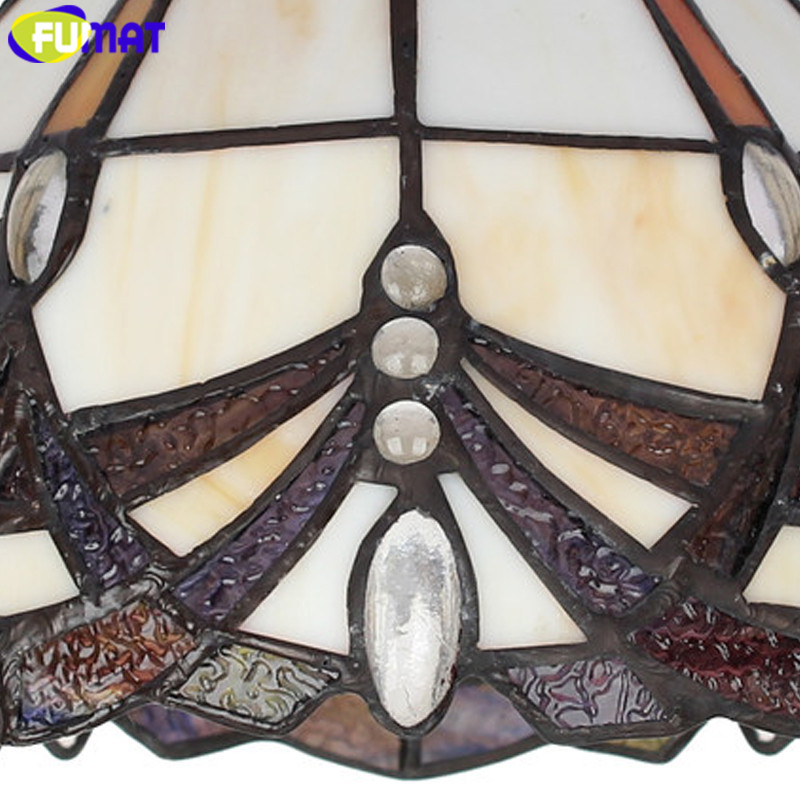 5Stained Glass Tiffany Ceiling Lighting