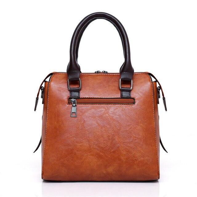 Women Composite Bag Luxury Leather Purse and Handbags Famous Brands Designer Sac Top-Handle Female Shoulder Bag 4pcs Ladies Set 2