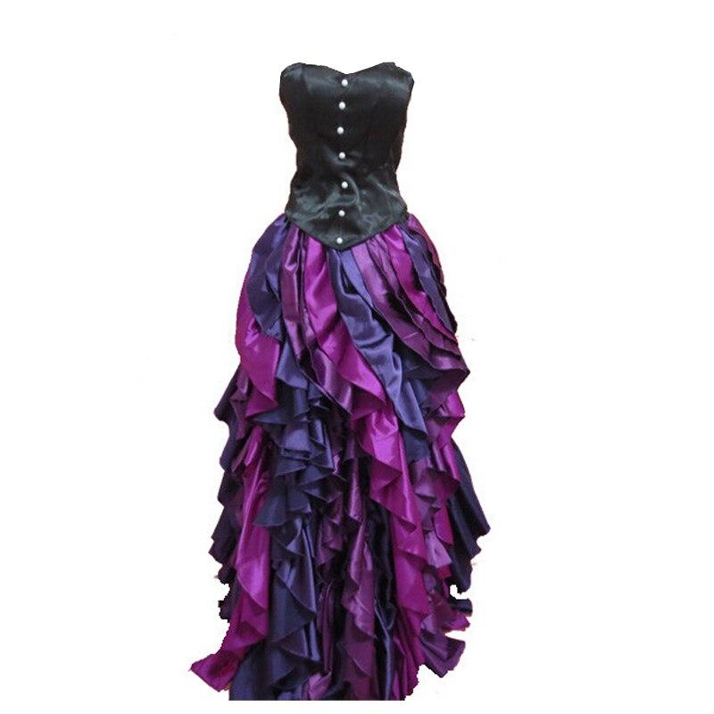2017 nouveau la petite robe de sirène mer sorcière Ursula robe de princesse Cosplay Costume violet sur mesure