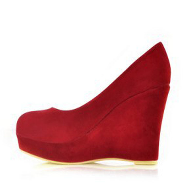 Popular Red Wedges Shoes-Buy Cheap Red Wedges Shoes lots from ...