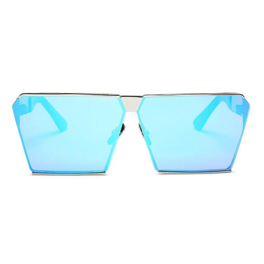 800d4d50ee5483 ộ ộ ༽Mrwonder Hommes surdimensionné carré lunettes de soleil en ...