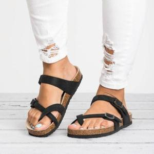 Women Summer Beach Clip Toe Bu