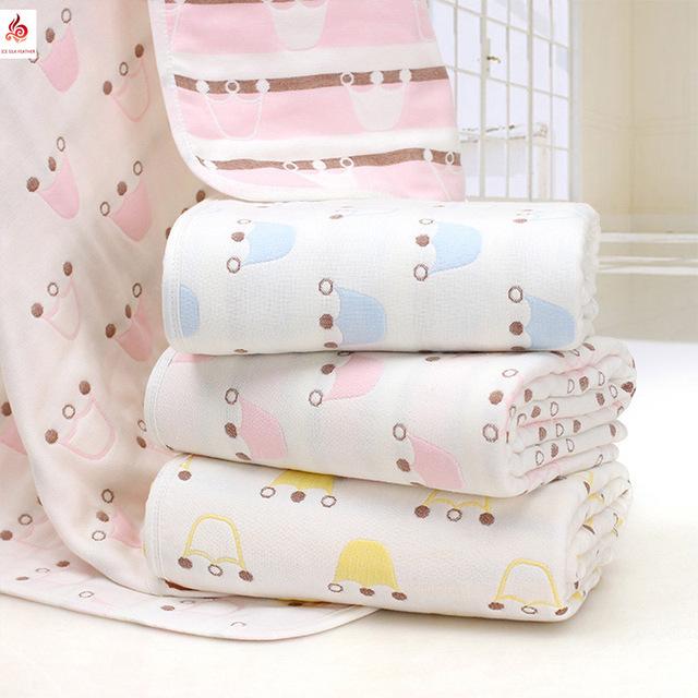 Towel algodão seis gaze banho do bebê gaze towel bebê têxtil crianças towel toalhinha bath towel para recém-nascidos do bebê da menina e do menino do bebê
