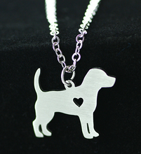 Beagle Dog Stainless Steel Fashion Pendant Necklace – 50% Discount for Next 48 Hours Only