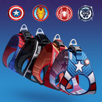Dog Cat Harness Pet Adjustable Vest Walking Lead Leash for Puppy Harness for Small Medium Dog Spider Man Captain America