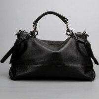 Hot Sell Women Bags Genuine Leather Women Messenger Bags Famous Brand Handbags Ladies Lager Capacity Shoulder