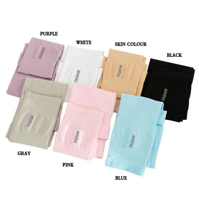 Long Gloves Sun UV Protection Hand Protector Cover Arm Sleeves Ice Silk Sunscreen Sleeves Outdoor Arm Warmer Half Finger Sleeves 3