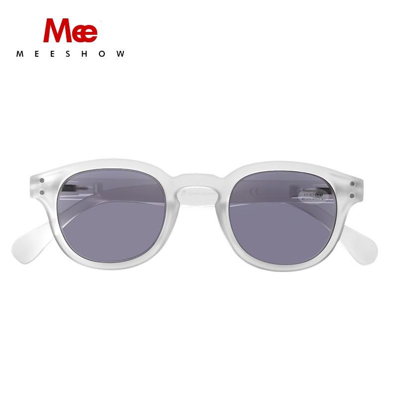 Meeshow Sonnenbrille Sonne & Sun Lesebrille Herren Gläser Grau Objektiv Mit Dioptrien Uv400 Sunreader 1513 1,5 1,0 2,5 2,0