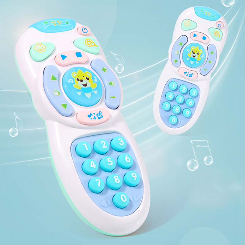 New Hot Baby Toys Music Mobile Phone TV Remote Control Early Educational Toys Electric Learning Machine Toy Gifts