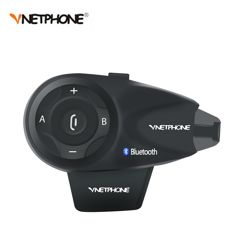 1200M BT Bluetooth Motorcycle Helmet Intercom for 5 Riders Interphone Headset Talk at same time V5 Free Shipping!!