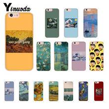 Yinuoda Great Art Oil Painting Van Gogh Phone Cover for iPhone X XS MAX 6 6S 7 7plus 8 8Plus 5 5S XR 10 11 11pro 11promax