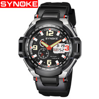 Sport Watches Men LED Black Light Quartz Digital Wristwatches 50M Waterproof Alarm Clock Timer Relogio Masculino