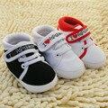 Hot Infantil Bebê Crianças Boy Menina Macia Sole Sapatilha Da Lona Sapatos Da Criança Recém-nascidos 0-18 M Atacado