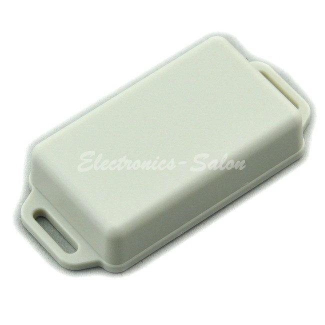 Small Wall-mounting Plastic Enclosure Box Case, White,61x36x15mm, HIGH QUALITY.