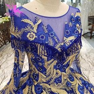 Image 1 - AIJINGYU חתונה שמלות יפן זול כלה Beijing שמלה סקסי פתוח חזרה ארוך שרוולים חדש שמלת כלה