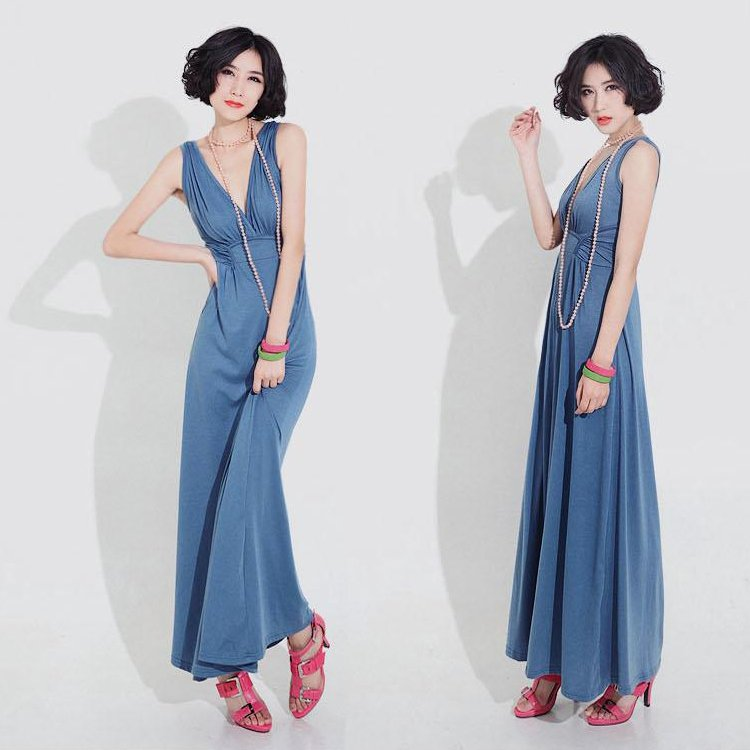 free shipping 2012 hot fashion women's long dress western