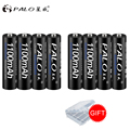 Rechargeable Battery Cell Set AAA 1100mAh 1.2V PALO NI-MH 3A Battery Baterias Bateria For LED light toy mp3 free shipping