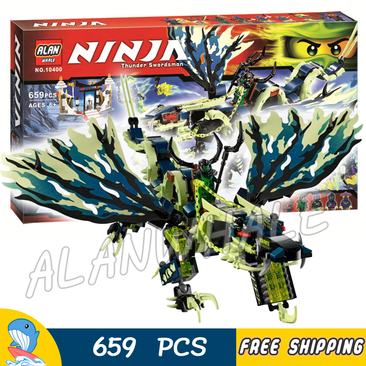 658pcs Ninja Attack of the Morro Dragon Tomb Jet Boards Ghost 10400 Model Building Blocks Kids Toys Bricks Compatible With lego видеоигра для pc медиа rise of the tomb raider 20 летний юбилей