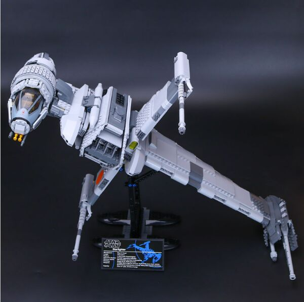 Lepin 05045 1487Pcs Genuine Star Series War The B- Starfighter wing Building Blocks Bricks Educational Toys 10227 Gift rollercoasters the war of the worlds