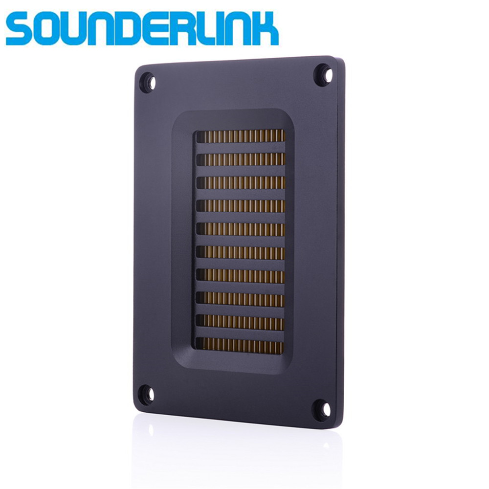 Sounerlink 60W high power Air motion tweeter transducer transformer AMT ribbon tweeter speaker sets low Crossover Frequency amt ribbon tweeter raw speaker driver air motion transformer tweeter speakers 1 pair