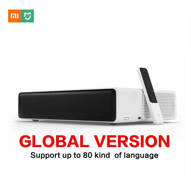 Xiaomi Mijia projecteur Laser TV Interface anglaise 150 pouces 5000 lumens 1080 Full HD 4 K Bluetooth 4.0 Wifi Support DOLBY DTS
