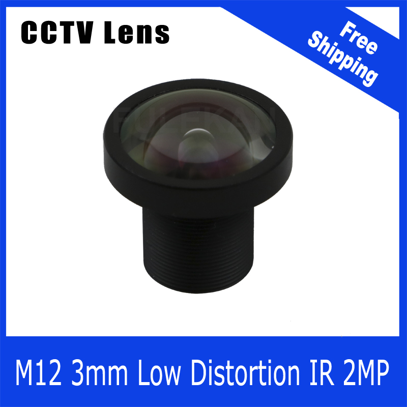 2Megapixel Fixed 1/2.7 inch Low Distortion Lens 3mm For  720P/960P/1080P IP camera or AHD/CVI/TVI HD CCTV Camera Free Shipping tr cvi313 3 best selling new high quality 300 500 meter transmission 3 6mm megapixel lens 2 0mp full hd 1080p camera cvi