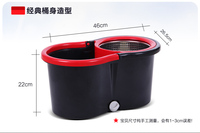 High quality Magic mops Rotating Mop bucket Household Cleaning Tools & Accessories with Stainless Tray